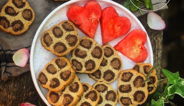sablés leopard vegan